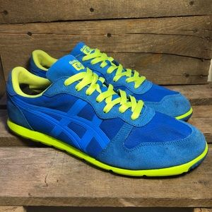 Asics Onitsuka Tiger Blue Corcovado Runner Shoes